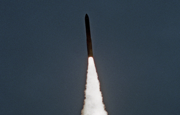 Launch of an ICBM (archive)