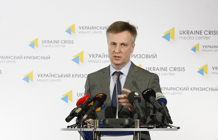 Head of Ukraine's Security Service, Valentin Nalivaychenko