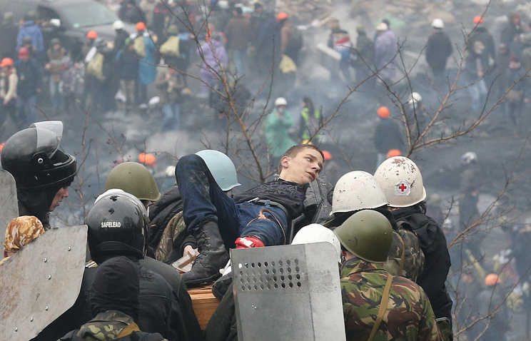 February 20, 2014 Maidan events in Kiev (archive)
