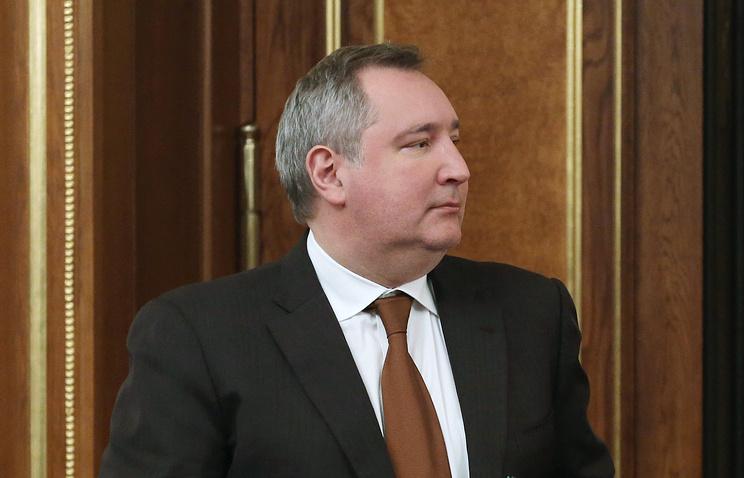 Russia's Deputy PM Dmitry Rogozin