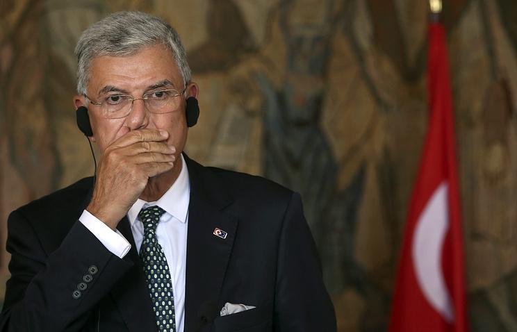 Turkish Minister for EU Affairs Volkan Bozkir