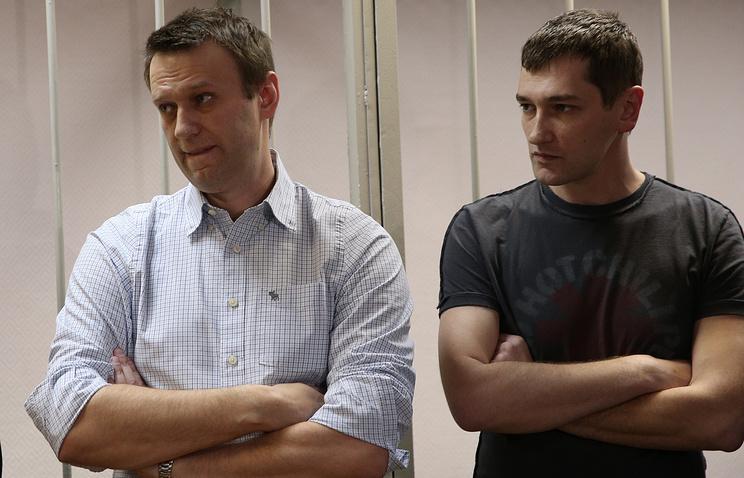 Aleksey and Oleg Navalny