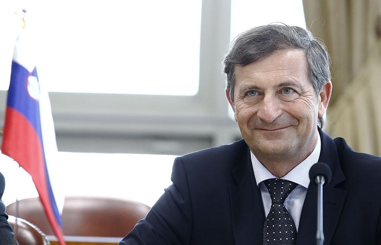 Slovenian Minister of Foreign Affairs Karl Erjavec