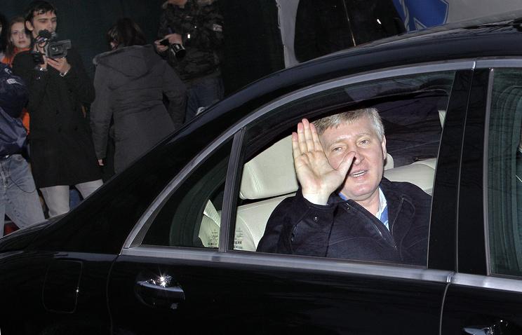 Ukrainian tycoon Rinat Akhmetov
