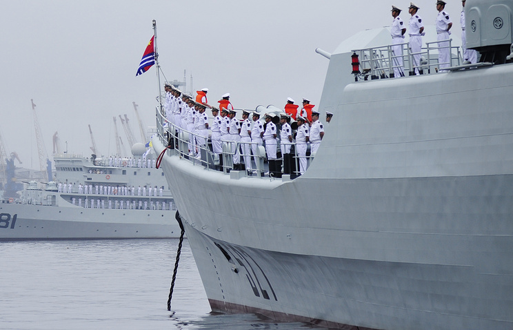 Chinese Navy ship (archive)