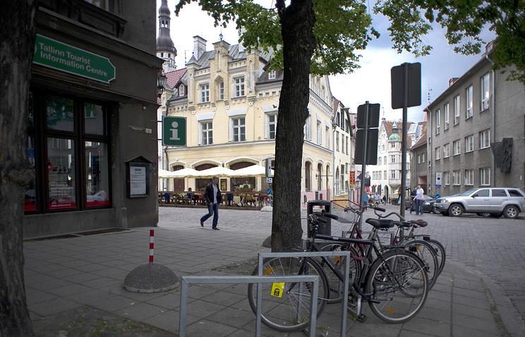 Downtown Tallinn, Estonia