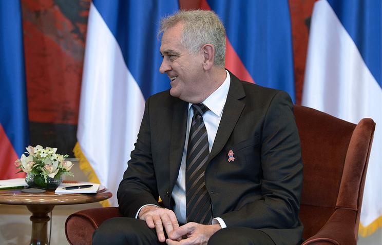 Serbian President Tomislav Nikolic