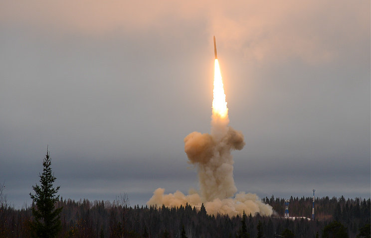 A missile launch in Russia (archive)