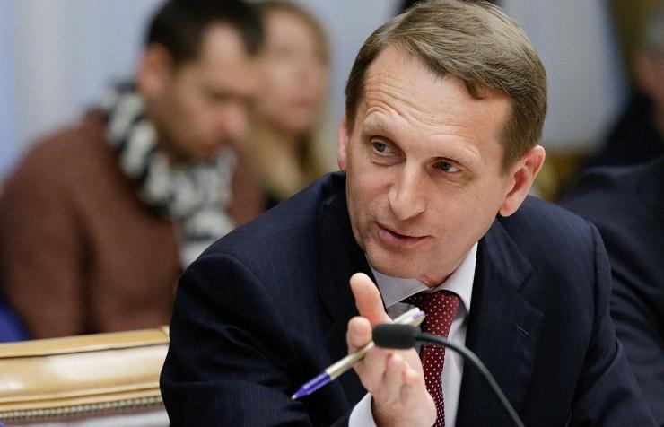 Russian State Duma chairman Sergey Naryshkin