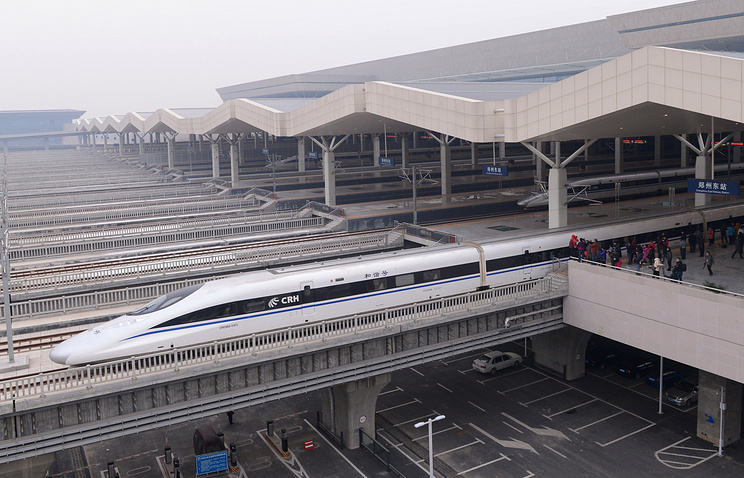 A high-speed train in China (archive)