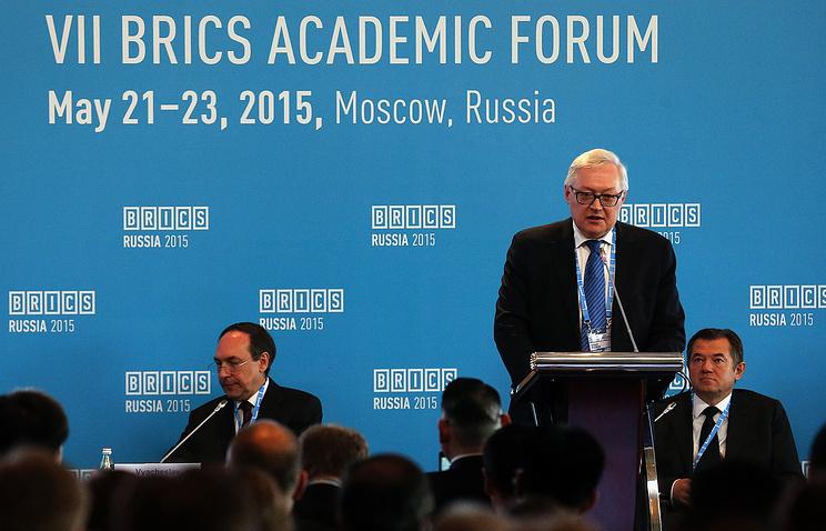 Russia's Deputy Foreign Minister Sergei Ryabkov