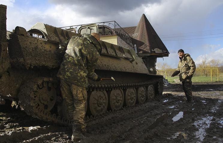 Ukrainian military (archive)