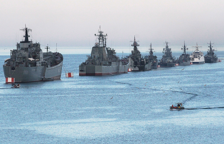 Russian Black Sea Fleet vessels