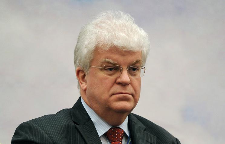 Russia's envoy to the European Union Vladimir Chizhov