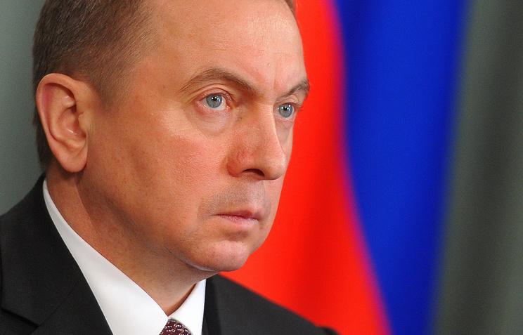 Belarus Foreign Minister Vladimir Makei