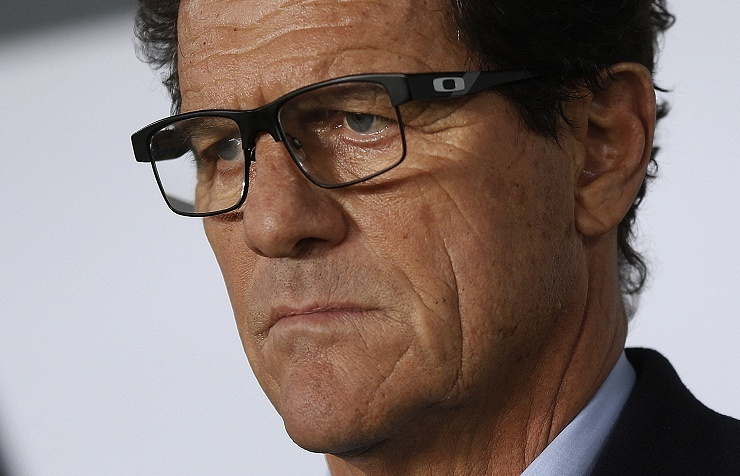 Russia's head coach Fabio Capello