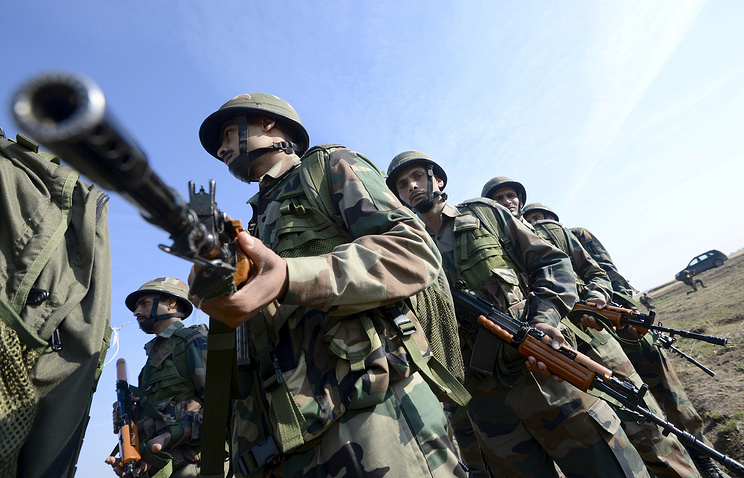 Russian-Indian exercises Indra-2014 (archive)