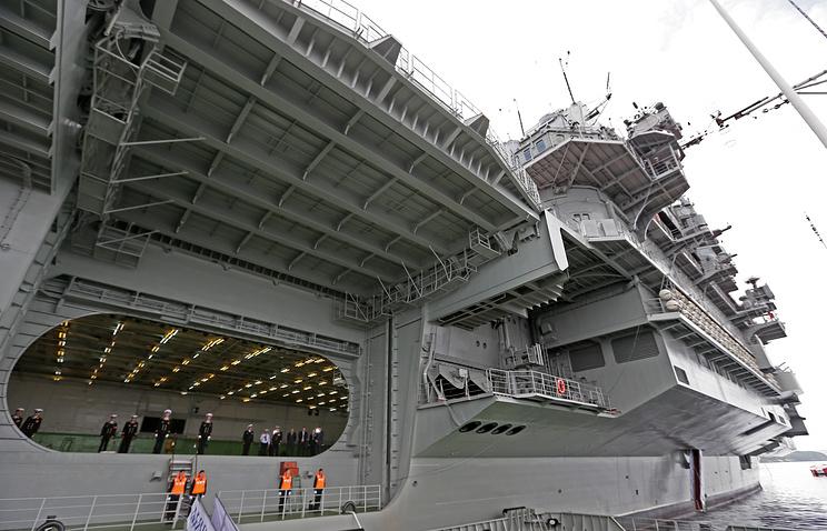 Admiral Kuznetsov heavy aircraft carrier
