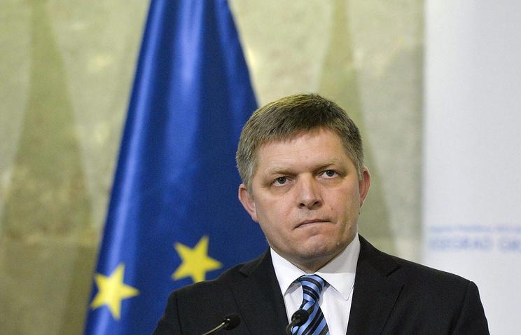 Slovak Prime Minister Robert Fico