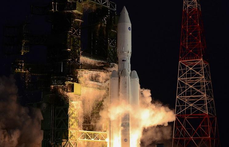Angara rocket launch