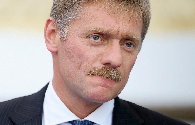 Vladimir Putin's press secretary Dmitry Peskov
