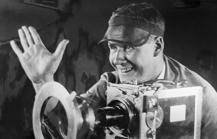 Soviet film director Sergei Eisentstein