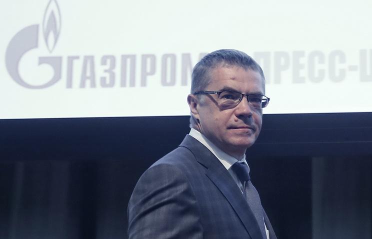 Gazprom deputy CEO Alexander Medvedev