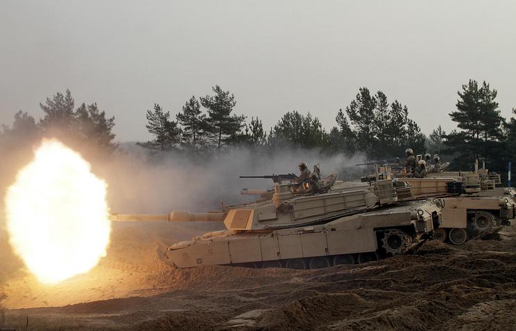 US tanks in Latvia (archive)