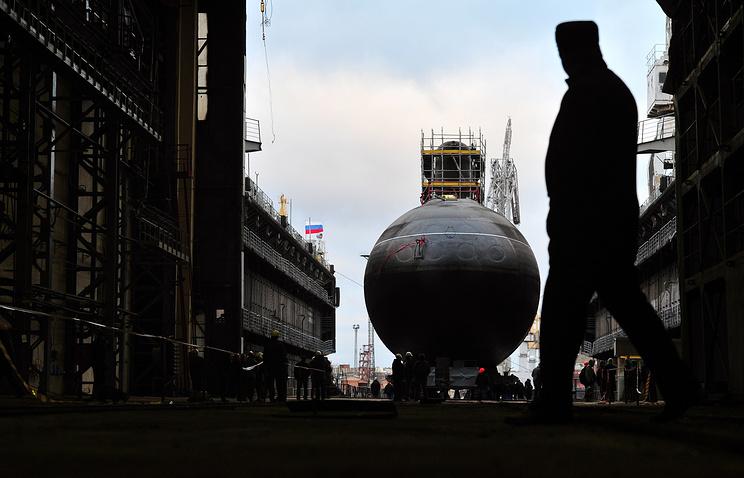 Admiralteyskie Verfi shipyard in St. Petersburg
