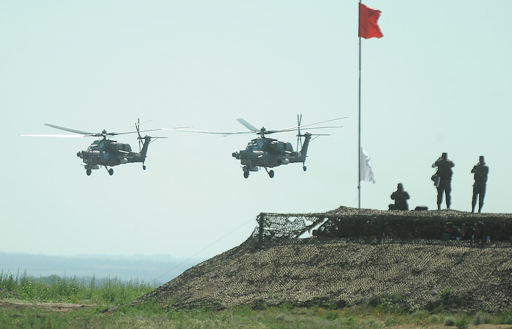 Joint military drills of Russia, Belarus and Ukraine (archive)