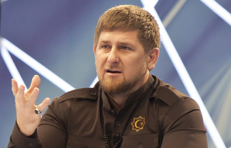 Chechnya's head Ramzan Kadyrov
