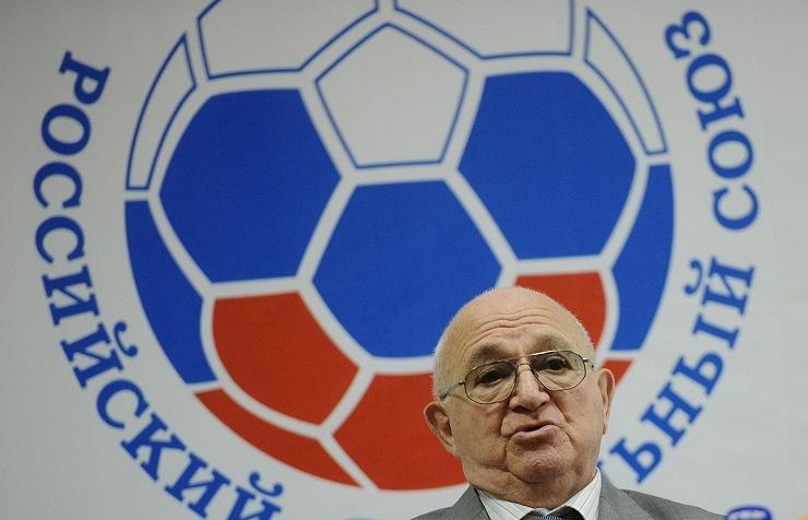 Nikita Simonyan, the acting president of the Russian Football Union (RFU)