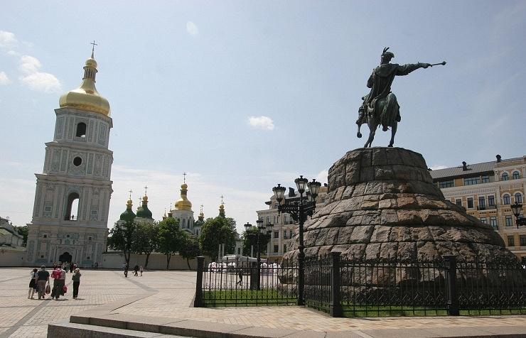 Kiev, Sofiyskaya Square