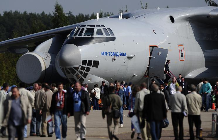 Ilyushin Il-76MD-90A aircraft