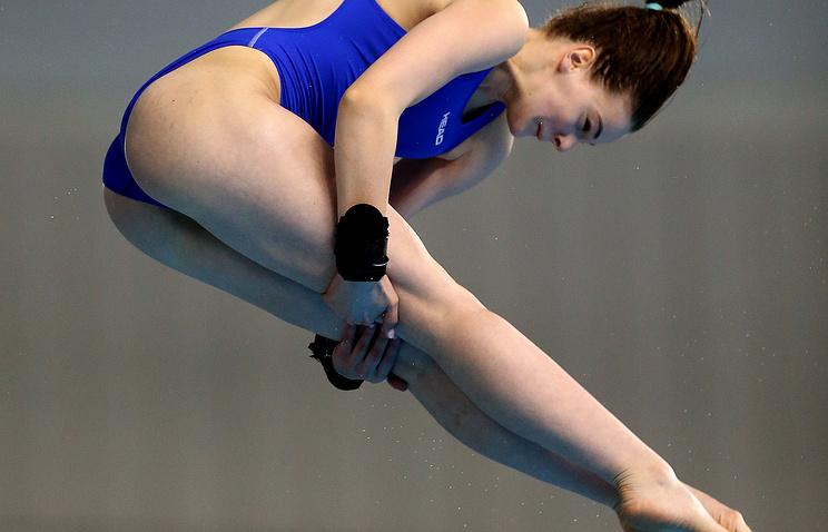 German diver Helena Wassen