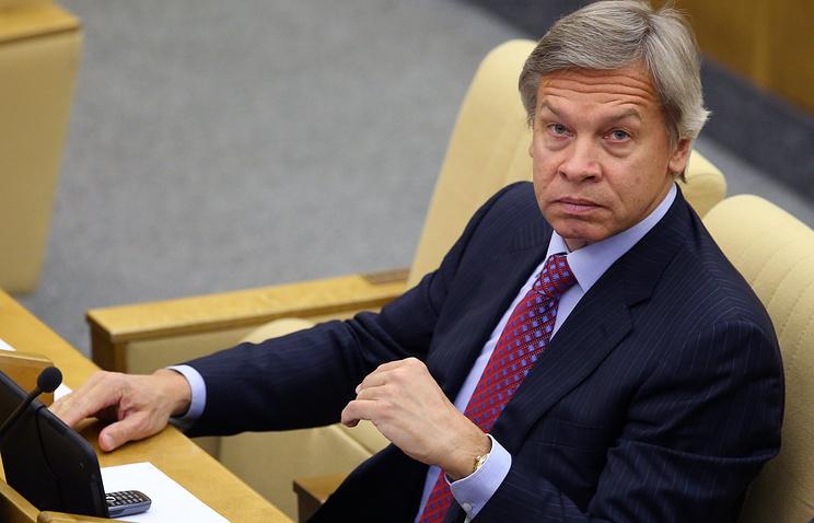 Chairman of Russian State Duma's Committee of International Affairs, Alexey Pushkov
