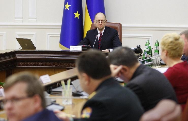 Ukrainian PM Arseniy Yatsenyuk