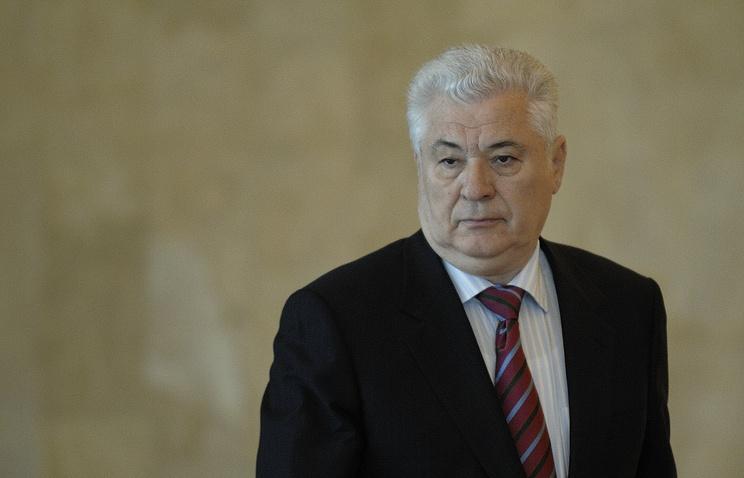 Leader of the oppositionist Communist Party, former Moldovan President Vladimir Voronin
