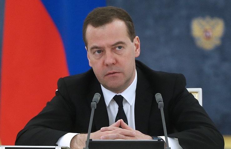 Russian PM Dmitry Medvedev