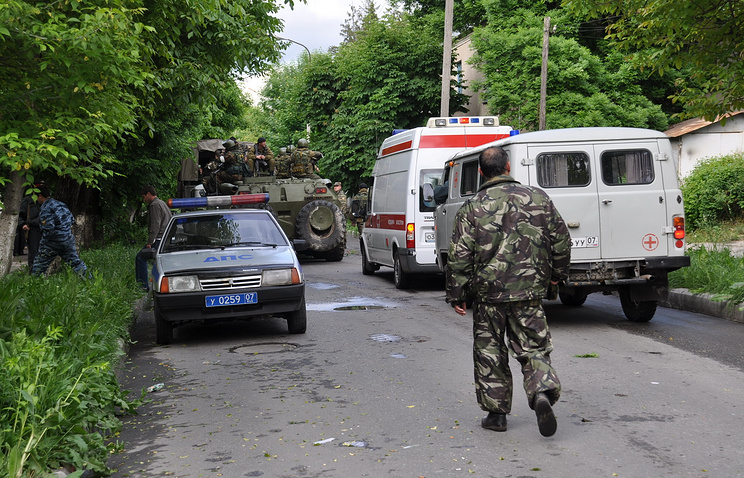 Special operation in Nalchik (archive)