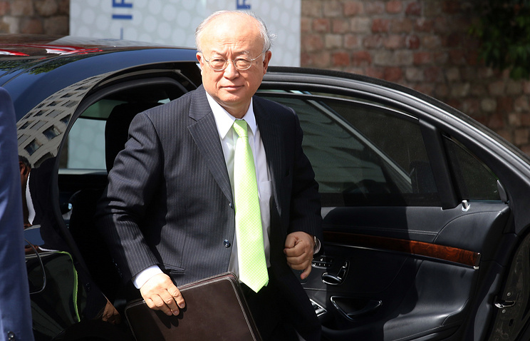 Director General of the International Atomic Energy Agency, Yukiya Amano