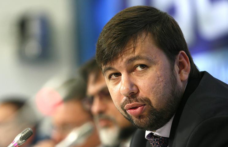 DPR's envoy Denis Pushilin