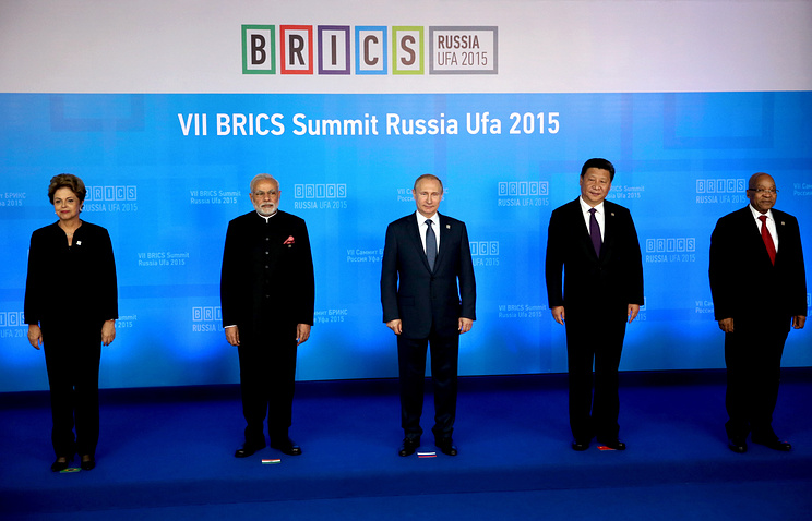 Leaders of BRICS states
