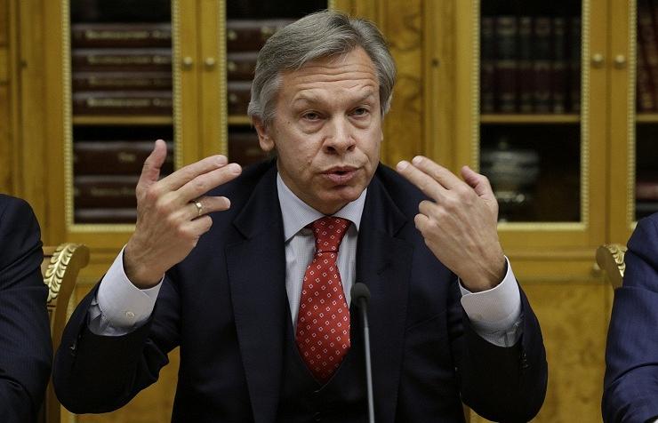 Chairman of State Duma's Committee on International Affairs Alexey Pushkov