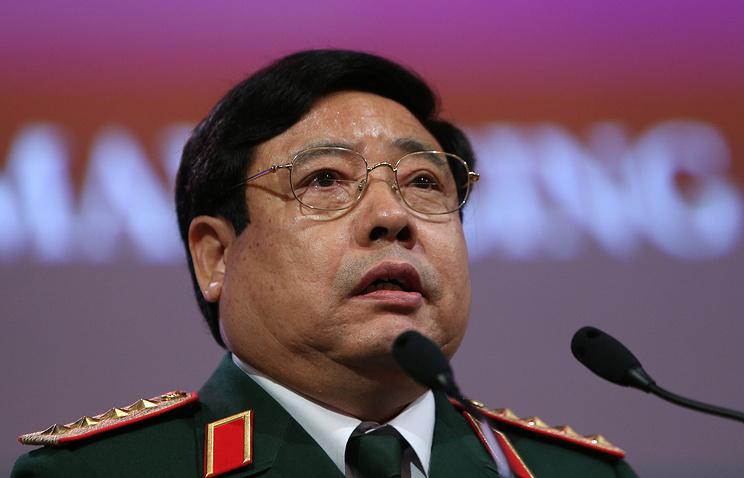 Vietnam's Defense Minister Phung Quang Thanh