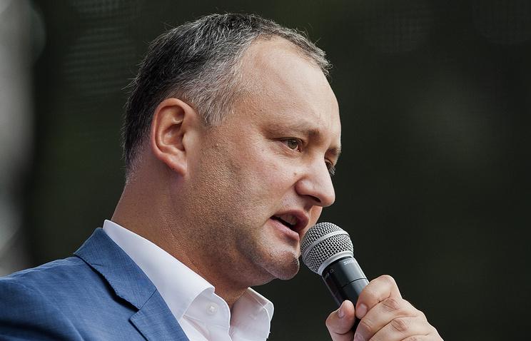 Moldova's former vice-premier Igor Dodon
