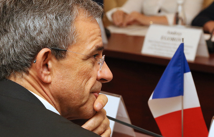 """Thierry Mariani, a member of the French National Assembly and co-chair of the """"French-Russian Dialogue"""" Association"""