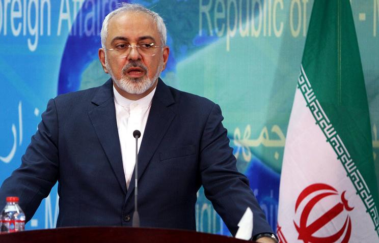 Iranian foreign minister Javad Zarif