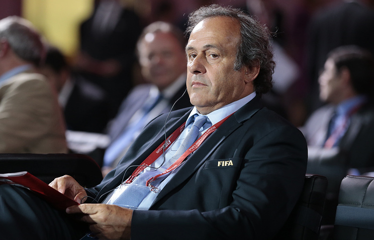Michel Platini, the president of the Union of European Football Associations