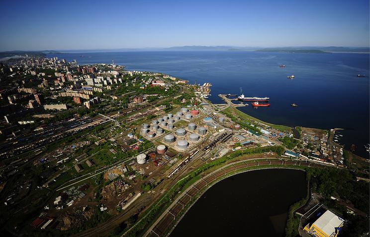 Far Eastern city of Vladivostok